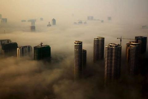 """La Chine en plein """"airpocalypse"""""""