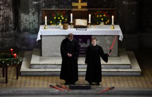 Berlin: Une église protestante célèbre le culte de « Star Wars »