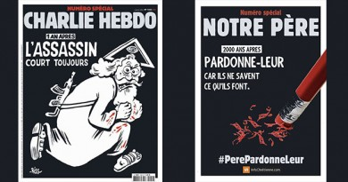 Pour Charlie Hebdo, Dieu est un assassin en fuite ! La réponse du site Info Chrétienne