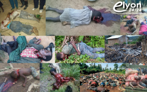 L'ombre de la mort et de la destruction plane sur Beni, Ituri et Dungu en République démocratique du Congo ! les massacres se poursuivent mais que c'est triste Seigneur. Notre monde est-il en train de devenir fou? ou Plutôt le monde est devenu fou. Mais Réveillez vous ! De quoi ça parle ? De la vie. De la votre, de la mienne de nos frères…. de ce que nous sommes devenu, et de ce que nous sommes en train de devenir. D'un monde qui s'est emballé et qui se trouve pris de folie… L'humanité cours à la perte et c'est notre devoir que d'en prendre conscience et de réagir ! Que pouvons-nous faire ? Prier sans cesse car Jésus lui-même n'a pas hésité à nous demander de prier sans cesse. Nous n'avons pas à lutter contre la chair et le sang, mais contre les dominations, contre les autorités, contre les princes de ce monde de ténèbres, contre les esprits méchants dans les lieux célestes. C'est pourquoi, prenez toutes les armes de Dieu, afin de pouvoir résister dans le mauvais jour, et tenir ferme après avoir tout surmonté.… Mes frères et sœurs prions pour le Congo car la prière fervente du juste a une grande efficacité.