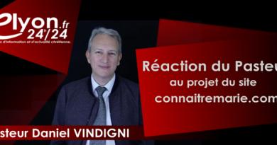 Réaction du Pasteur Daniel Vindigni au site connaitremarie.com